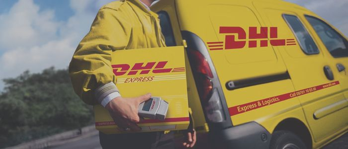 DHL document collection service