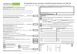 apostille application form